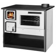 Готварска печка на твърдо гориво Diplomat Огняна, бяла