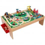 Kidkraft Lekbord med tågbana, 120 delar - Kidkraft Tågbanor 17850