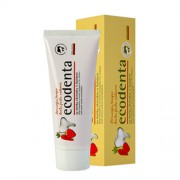 Ecodenta - Wild Strawberry Flavoured Toothpaste (75ml) - Kozmetikum