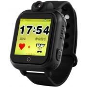 "Smartwatch iUni Kid730, 1.54"", GPS, 3G, Bratara silicon (Negru)"