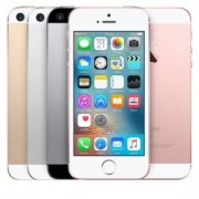 Apple iPhone SE Fabriksservad -telefon - Silver, 64GB