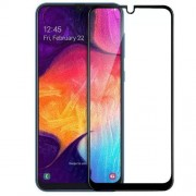 Folie sticla Case friendly Spigen Glass FC Samsung Galaxy A50 (2019) Black