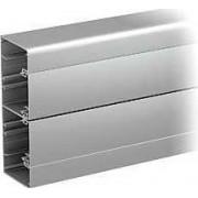 Optiline 45 - canal de cabluri instalare - 140x55 mm - alum. - natural - 2000 mm - Sisteme de canale optiline 45 - 140x55 mm - Optiline 45 - ISM10350 - Schneider Electric
