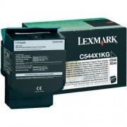 Toner Lexmark C544X1KG black, C544/X544 6.0k