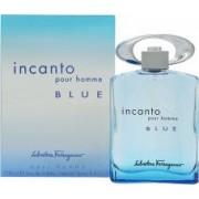 Salvatore Ferragamo Incanto Pour Homme Blue Eau de Toilette 100ml Vaporizador