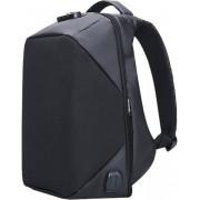 Multifunctionele Anti-Diefstal Pro Laptop Rugzak met USB Oplaadpoort / Cijferslot 15.4 inch - Zwart