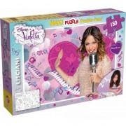 Puzzle Lisciani, SuperMaxi cu 2 fete, Violetta, Pianul, 150 piese