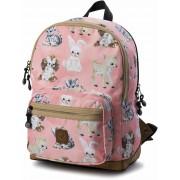 Pick & Pack Rucksack Tiere, Rosa