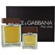 Dolce & Gabbana The One for Men подаръчен комплект IV. тоалетна вода 100 ml + тоалетна вода 30 ml