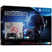 Consola Sony PlayStation 4 Slim 1TB Limited Edition + Star Wars Battlefront II (Gri)