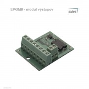 EPGM8 - modul výstupov