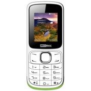 "Telefon Mobil MaxCom MM129, VGA 1.8"", Dual Sim, 2G (Alb) + Cartela SIM Orange PrePay, 6 euro credit, 6 GB internet 4G, 2,000 minute nationale si internationale fix sau SMS nationale din care 300 minute/SMS internationale mobil UE"