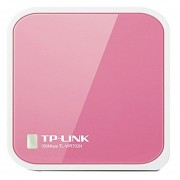 Nano Router Inalámbrico N TP LINK TL-WR702N-Rosa Y Verde