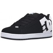 DC Men s Court Graffik Skate Shoe Black 9 D(M) US