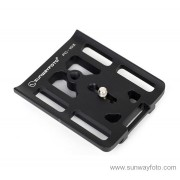 SUNWAYFOTO Custom Plate for Canon PC-1DX Camera