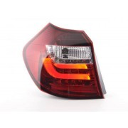 FK-Automotive Led Taillights BMW serie 1 E87/E81 3/5-Dr. Yr. 07-11 clear/red