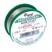 Fludor fără Plumb Sn 99.3 Cu 0.7 - 1.1.3/3/3.0% cu Diametrul de 0.5 (100 g)