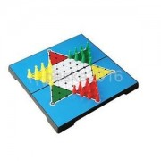 Alcoa Prime Classic Hexagon Chinese Checkers Board Game Student Kid Home Travel Toy Set