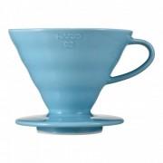 "Hario Ceramic coffee dripper Hario ""V60-02 Blue"""