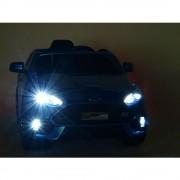 Masinuta electrica cu pornire la cheie Ford Focus RS Black