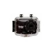 Câmera filmadora de ação Full HD com caixa estanque e acessórios DVR786HD VIVITAR - Preta