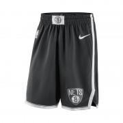 Brooklyn Nets Nike Icon Edition Swingman NBA-Herrenshorts - Schwarz