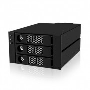 "Raidsonic IcyBox IB-553SSK 3xSATA/SAS 3.5"" HDD Black"