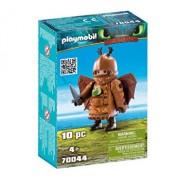 Playmobil Dragons III, Fishleg in costum de zbor