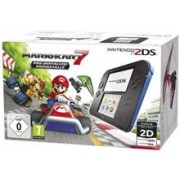 Consola Nintendo 2DS Black And Blue With Mario Kart 7