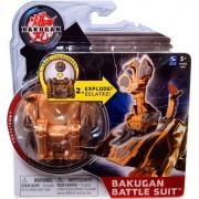 Bakugan Mechtanium Surge Battle Suit Brown Fortatron by Spin Master