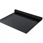 Подложка против хлъзгане [pro.tec]® , с мотиви на шайби 2 x 1m, Черна, 3 mm дебелина
