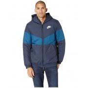 Nike NSW Synthetic Fill Jacket Hoodie ObsidianBlue ForceObsidianSail