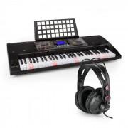SCHUBERT Etude 450 USB Lern-Keyboard mit Kopfhörer 61 Tasten USB-MIDI-Player LCD