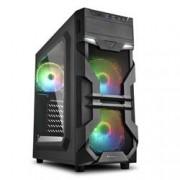 SHARKOON 2X U3, WINDOW, 3X 120 ARGB LED FAN, RGB CONTROLLER