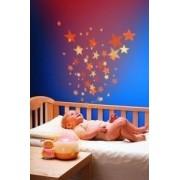 Chicco lány Zenélő csillagok vetítő és lámpa 0m+