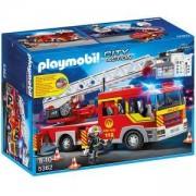 Комплект Плеймобил 5362 - Противопожарна стълба с звук и светлини, Playmobil, 291100