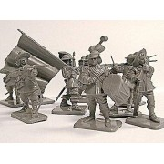 Toy Soldiers English Civil War Royalist vs. Parliament 16 Figures in 4 Poses Call to Arms Series 1 Compatible with Conte Marx Airfix Toy Soldiers San Diego