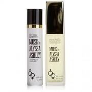 Alyssa ashley - musk confezione regalo 100 ml edt + 100 ml deodorante spray profumato