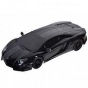 Masinuta Lamborghini Aventador neagra telecomanda control
