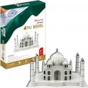 Puzzle 3D Cubic Fun - Taj Mahal, 87 piese (Cubic-Fun-MC081H)