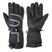 RELAX SPIRIT Lyžařské rukavice RR11B černá S