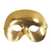 Made in China Maska Metalik Złota