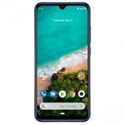 Смартфон Xiaomi Mi A3, 4/128 GB памет, Dual SIM, 6.08 инча HD (1560 x 720), Qualcomm Snapdragon 665, Android 9.0 (Pie), Blue, MZB7952EU