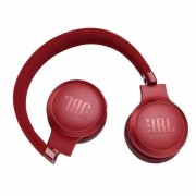HEADPHONES, JBL LIVE400, Bluetooth, Microphone, Red (JBLLIVE400BTRED)
