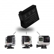 EB Para Go Pro Hero 4/3 + / 3/2 Bacpac Battery Backup Para GoPro Hero 4/3 + / 3/2-Black