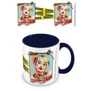Pyramid International Birds Of Prey Coloured Inner Mug Harley Quinn Warning