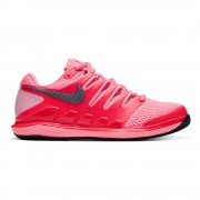 Nike Air Zoom Vapor X Tennisschoenen Dames - neonrood