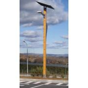 Pica-Pau - Poste de Iluminação Autónomo Fotovoltaico VALLED