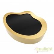 Masuta de cafea LUX design modern si elegant din metal finisaj auriu GIBBONS 109548 HZ