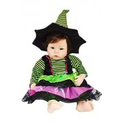 My Brittany's Modern Halloween Witch Costume for 20 Inch Dolls- Doll Clothes Only